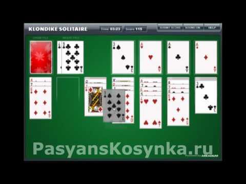 Игра Пасьянсы 3 играть бесплатно онлайн (настольные)