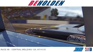 BEHOLDEN episode 08 - CW 125 - 07/11/15 - NASCAR Tri-Track Super Late Model Series raceumentary