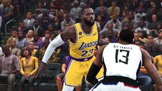 Clippers vs Lakers Full Game Highlights! West Finals Game 1 NBA Playoffs | NBA 2K20