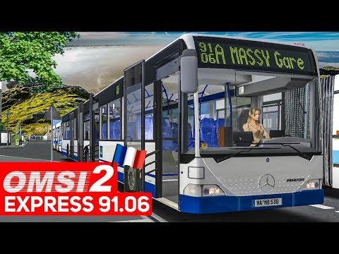 OMSI 2 Add-on Express 91.06 #2: Busfahrer-Stories im Mercedes GÜ! | Bus-Simulator