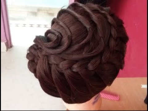 Latest Eid Special Hairstyle#Beautiful Long Hair Hairstyle For Party Hairstyle#Hairstyle For Parties