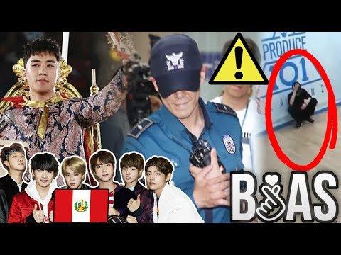 PELEA de REN de NU'EST|BTS en PERÚ|MALAS NOTICIAS PARA TOP de BIGBANG