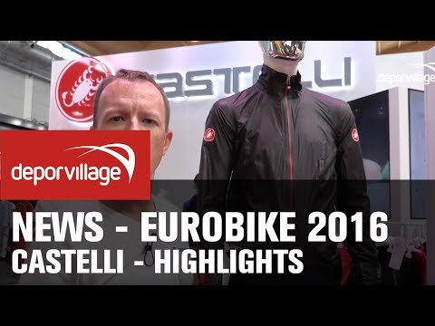 eurobike 2016 - Castelli highlights