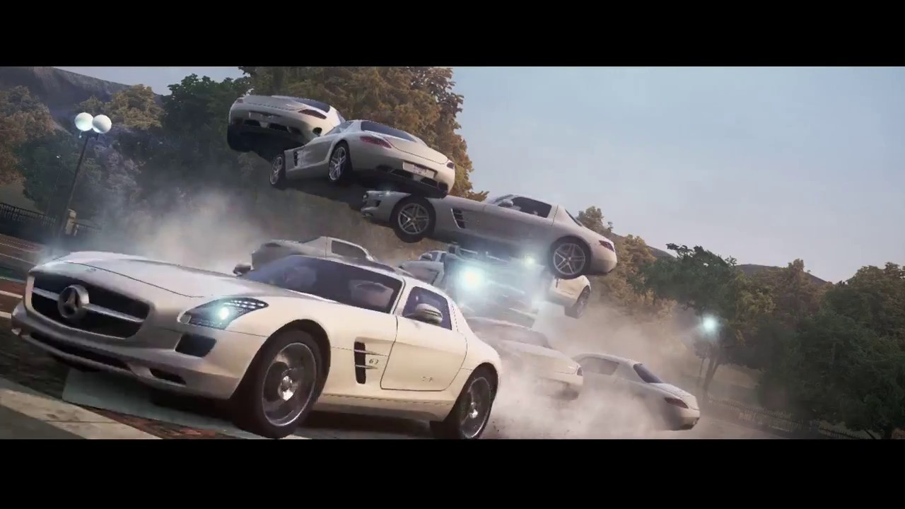 need for speed: most wanted (2012) | mercedes benz sls amg