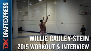 Willie Cauley-Stein 2015 NBA Draft Workout Video