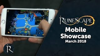 RuneScape - Mobile Showcase (March Content Showcase)