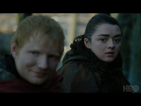 Game of Thrones: Season 7 Episode 1 Clip: Arya and Ed Sheeran (HBO)