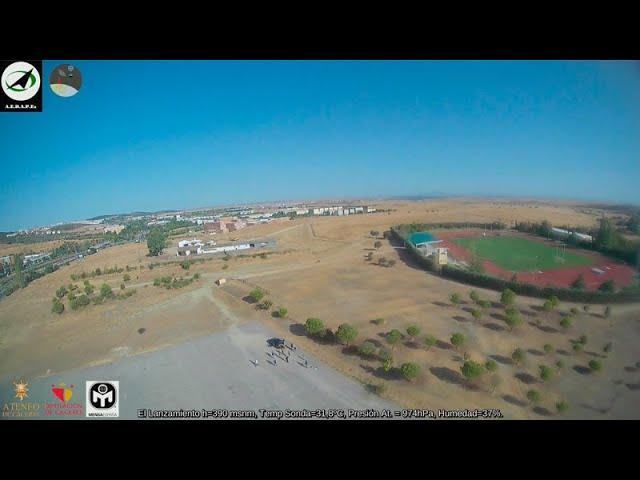 Resumen del viaje de la sonda espacial lanzada por el Ateneo de Cáceres