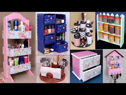 12 DIY Home And Kitchen Organization Ideas || Room Organization Ideas