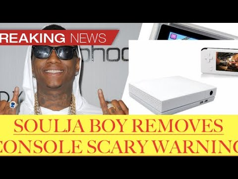 Update: Soulja Boy REMOVED consoles after WARNING from software companies facing legal issues