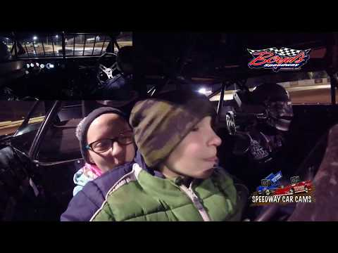 Parker and Courtney's 2 Seater Ride - 10-29-17 Boyds Speedway - In Car Camera