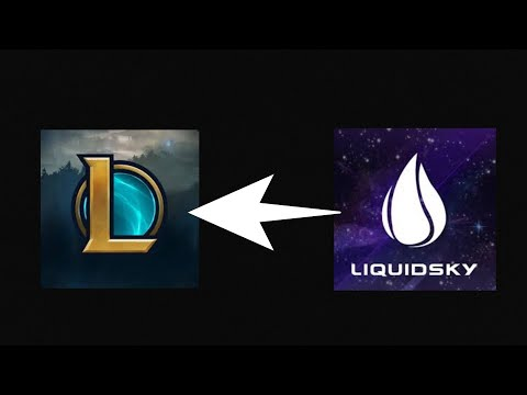 league of legends with liquid sky (Kayne)