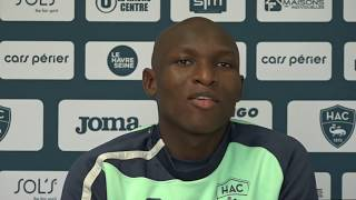 VIDEO: Avant HAC - Le Mans, interview de Yacouba Coulibaly