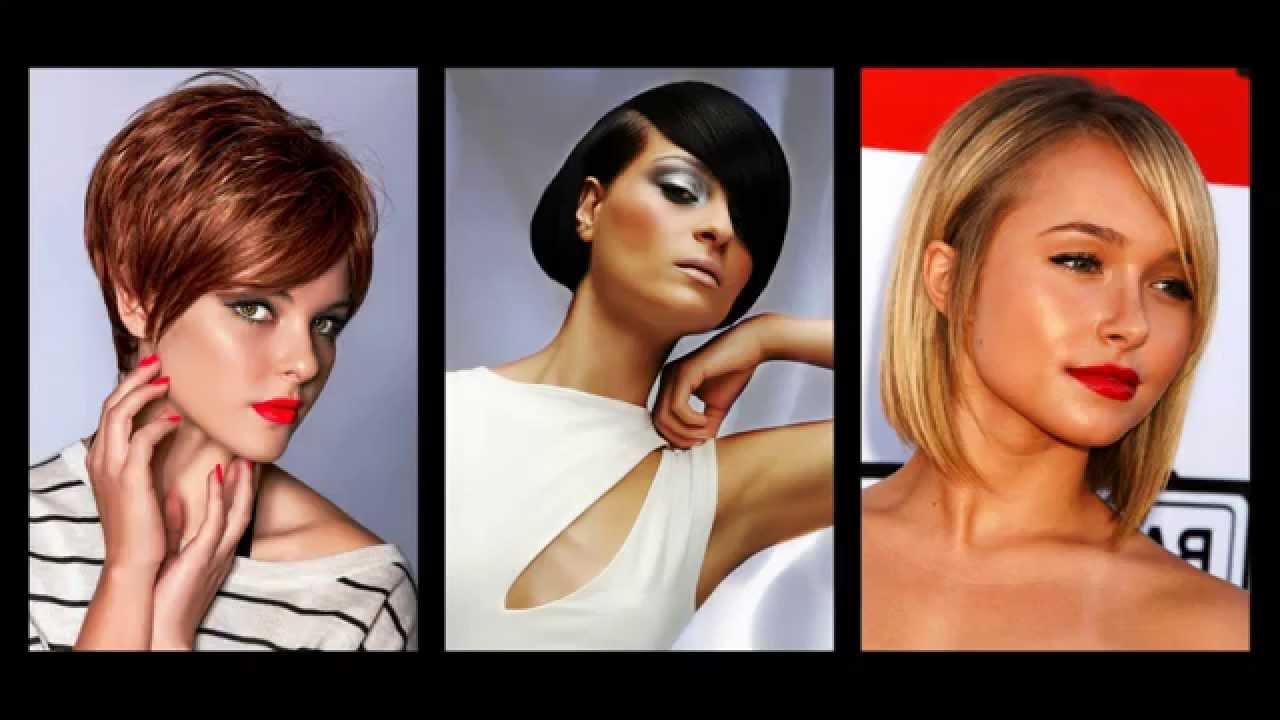 Foto di tagli di capelli asimmetrici