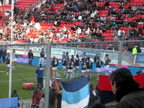 Entrada en calor de Los Pumas (Independiente)