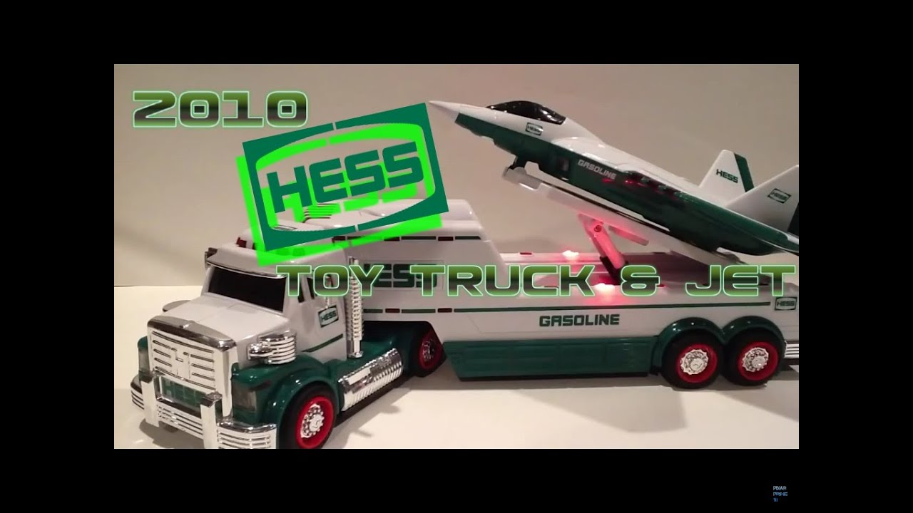 Video review of the hess toy truck 2010 hess toy truck and jet youtube