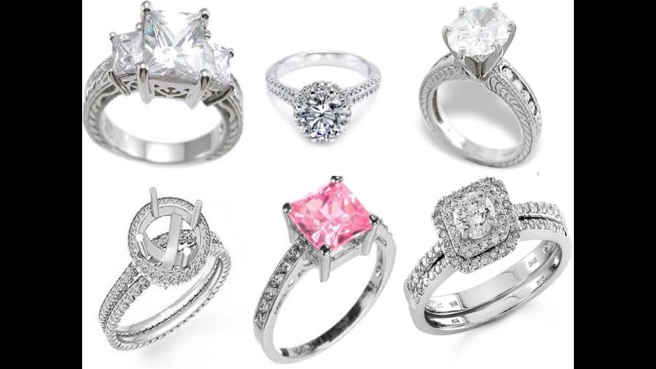 types of engagement rings youtube - Types Of Wedding Rings