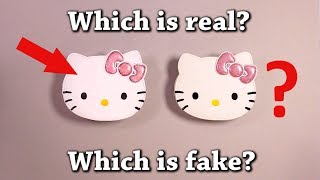 Fun Test: Which is Real? Hello Kitty Purse Drawing Challenge!