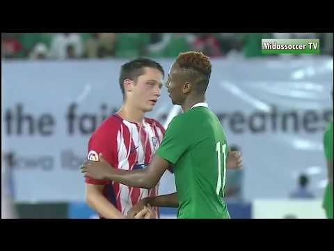 Nigeria vs Atletico Madrid 2-3 Highlights & Goals