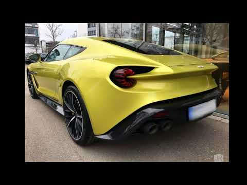 2018 Aston Martin Vanquish Zagato Test Drive : The  Vanquish Zagato Coupe is the most beautiful car