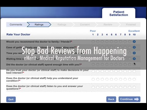 Online Reputation Management for Physicians, Dentists and Hospitals - by eMerit