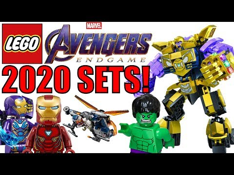 LEGO Avengers Endgame 2020 Sets Rumor List! Thanos Mech! 🔥