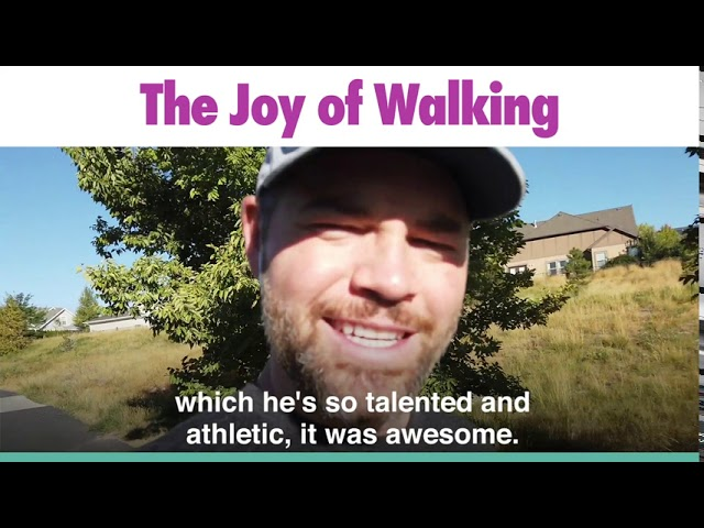 The Joy of Walking - Jason Hewlett