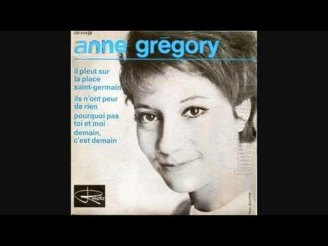 Anne Gregory - comment aurais-je deviné - 1965