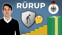 Rürup Rente: Für wen lohnt es sich? Vor- & Nachteile!