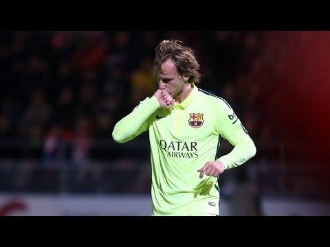 FC Barcelona's great free-kicks takers