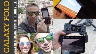 TELEFONO PIEGHEVOLE una settimana con GALAXY FOLD (4k video)