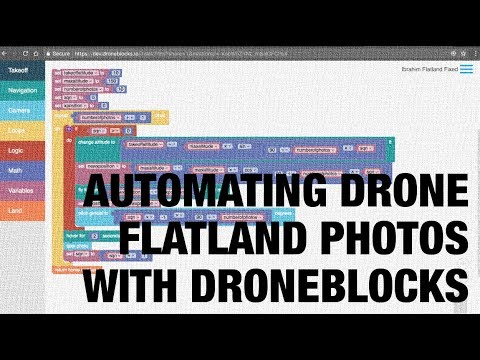 Automating Drone Flatland Photos with DroneBlocks