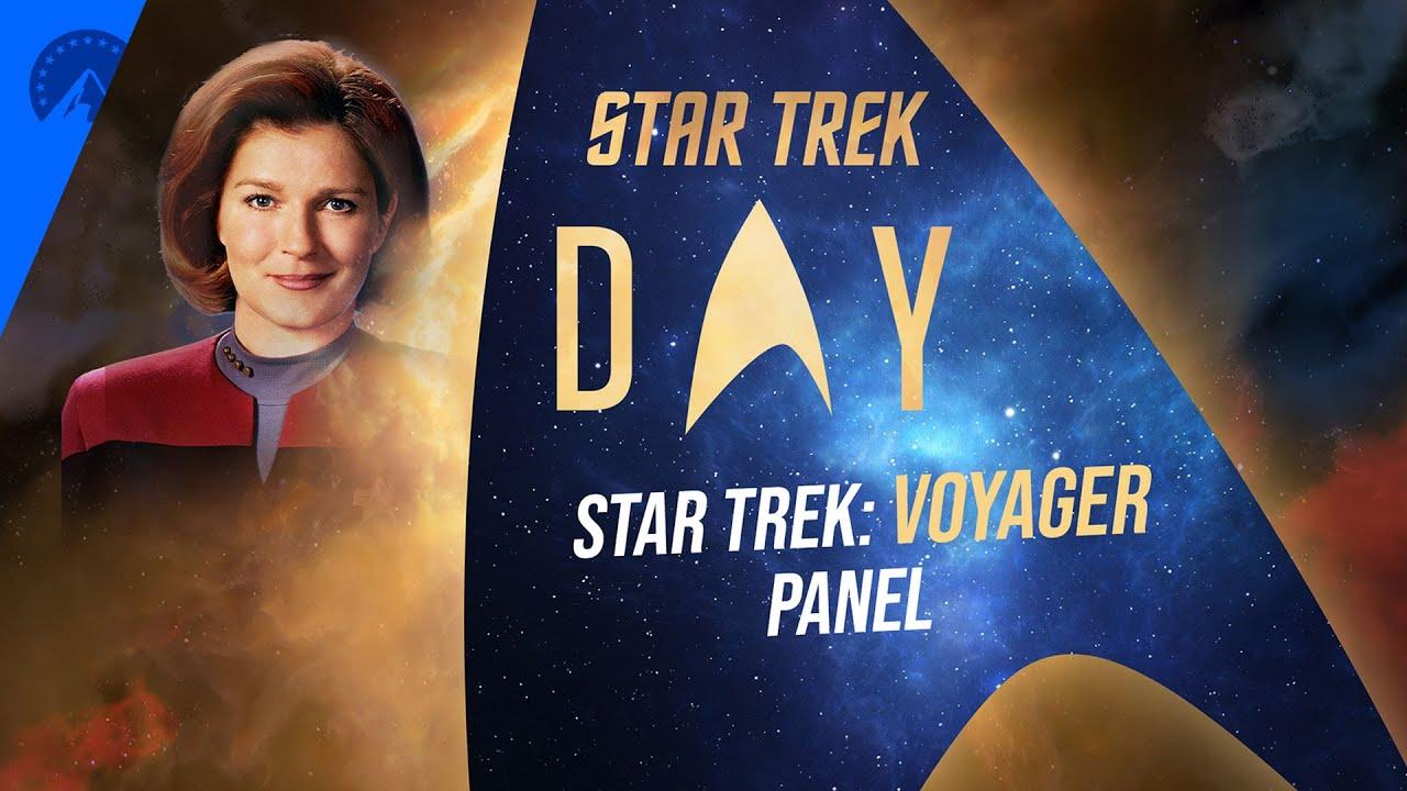Download Star Trek Day 2020   Voyager Panel   Paramount+