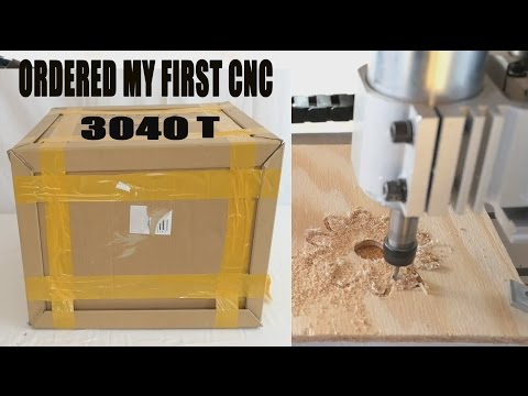 3040 Ebay CNC! Unboxing To First Part