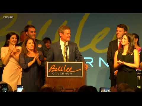 Bill Lee speaks after winning Republican nomination for governor
