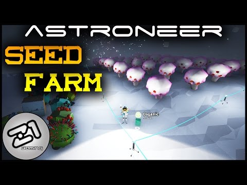 Astroneer UPDATE SEED FARM ! Research Stockpile S1E15 | Lets play astroneer gameplay | Z1 Gaming