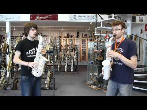 Vibrato Polycarbonate  Plastic Saxophone