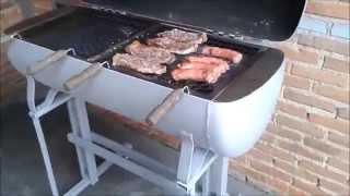 Como fazer churrasqueira a bafo, feita com compressor de ar