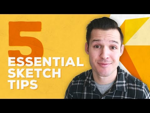 5 Essential Sketch App Tips • Sketch for Mac Design Tutorial  • Design, Process, & Workflow thumbnail