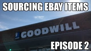 Sourcing Resale Items at Goodwill for Selling on Ebay
