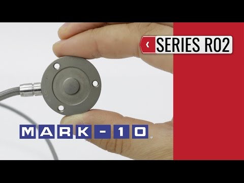 MARK-10 - Compression Force Sensor Series R02 (product video presentation)