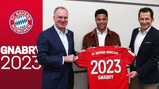 Serge Gnabry extends contract at FC Bayern until 2023! #Serge2023