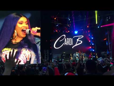 Cardi B - Broccoli City Festival 2018 Full Live Performance (Last Pregnancy Performance)