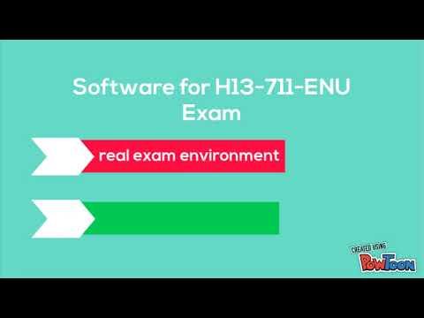 Valid Huawei H13-711-ENU Dumps | Passtcert