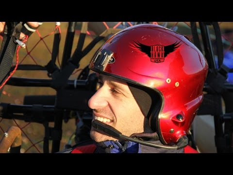 PARAPLEGIC PARAMOTOR PILOT - A Powered Paragliding Journey!