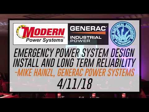 Emergency Power System Design: Install and Long Term Reliability | Modern Power Systems