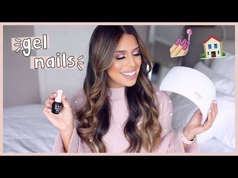 DIY Best Gel Nails || Amazon UV Lamp