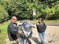 Punta Veleno in moto - BMW R1200GS ADV LC