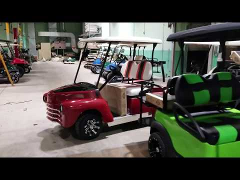 Custom Golf Carts Club Car Ez Go For Sale From SaferWholesale.com