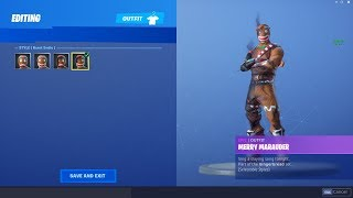 How to Unlock the Burnt Merry Marauder + Ginger Gunner in Fortnite ...